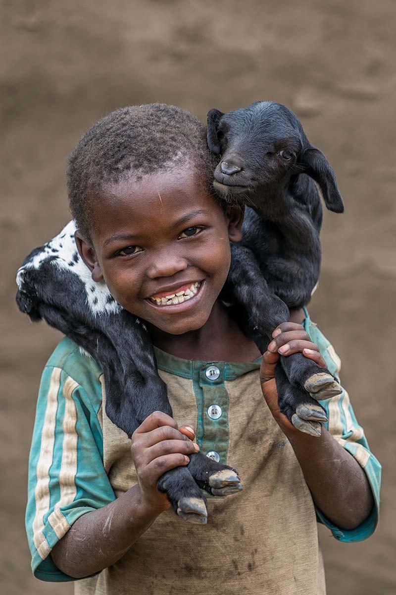 아이와 새끼염소