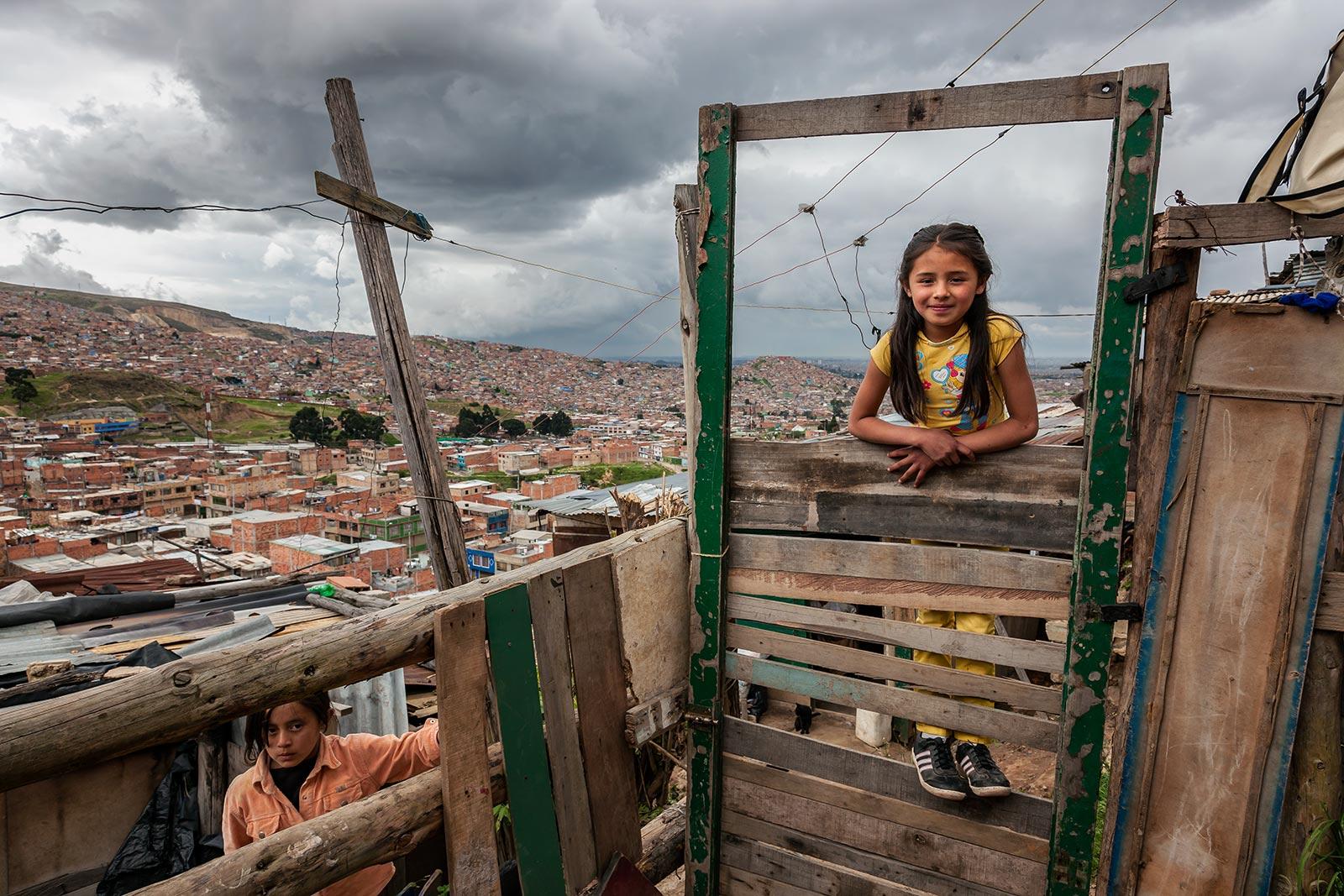 콜롬비아에서 만난 아이들