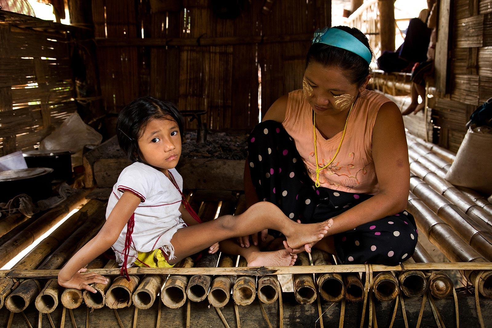 치앙마이에서 만난 가족 (2)