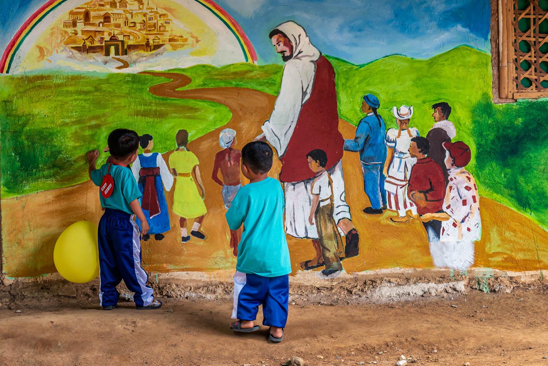 예수와 아이들